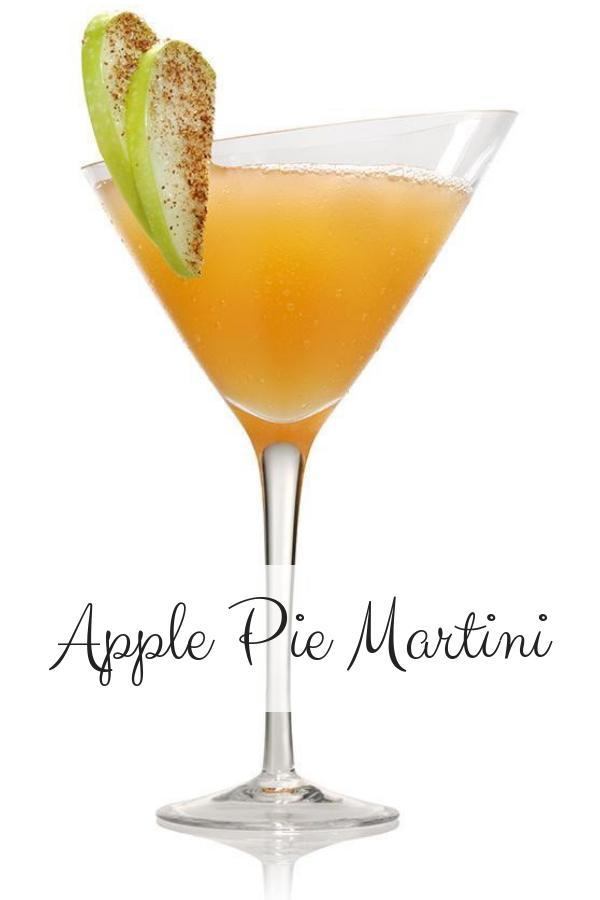 Apple Pie Vodka Cocktail