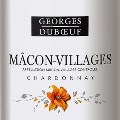 Label Shot of Georges DuBoeuf White Burgundy