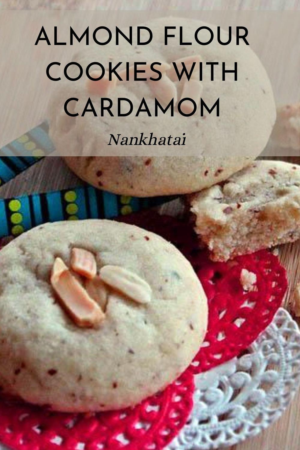 Almond Flour Cookies with Cardamom graphic