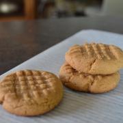 Flourless Salted Peanut Cookies