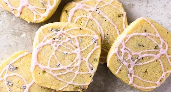 Lavender Butter Cookies