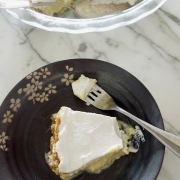 Key Lime Pie with a Salty Macadamia-Graham Cracker Crust