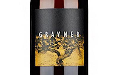 Closeup of label from Gravner Ribolla Orange Wine