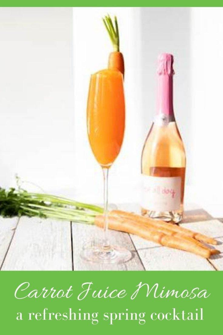 Carrot Mimosa Pinnable Graphic