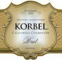 Korbel California Brut Label