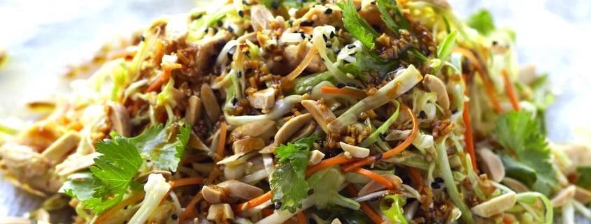 Grilled Ginger Sesame Chicken Salad 1