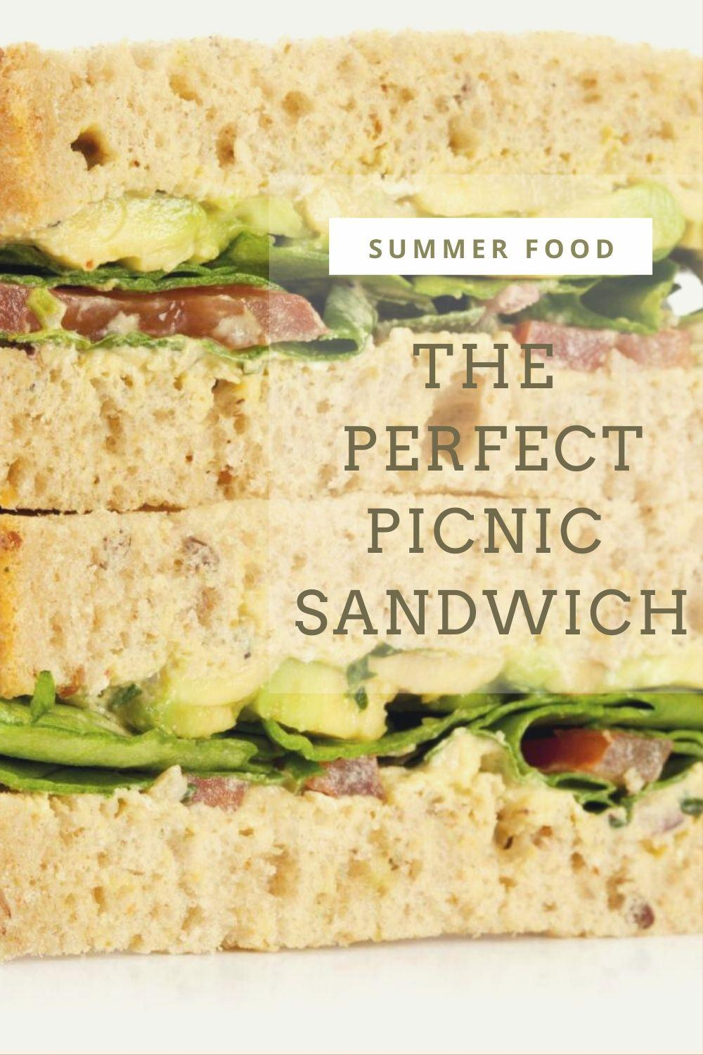 Perfect Picnic Sandwiches graphic
