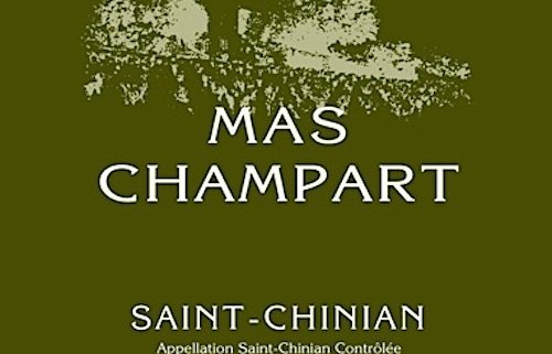 Mas Champart Blanc Label