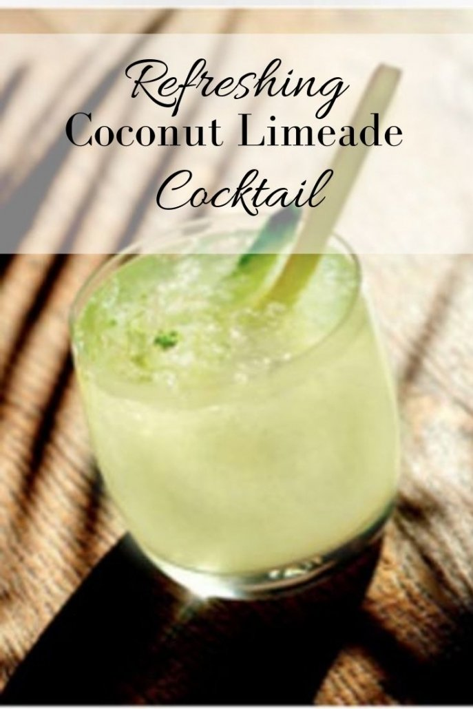 Coconut Limeade Cocktail 2