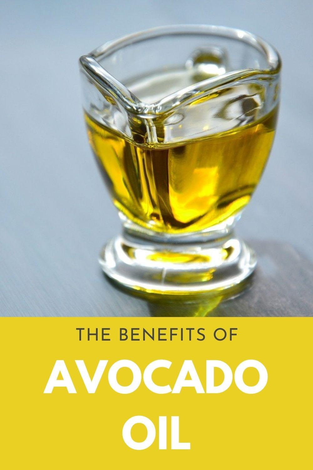 benefits of avocado oil graphic