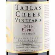 Label shot of Tablas Creek Esprit de Tablas