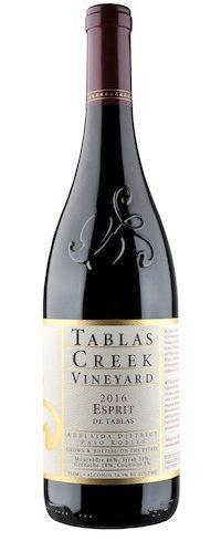 Bottle shot of Tablas Creek Esprit de Tablas red wine