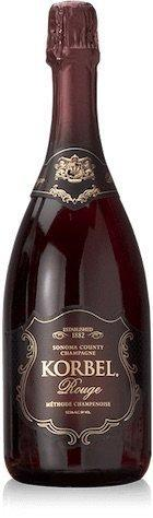 Bottle of Korbel Rouge