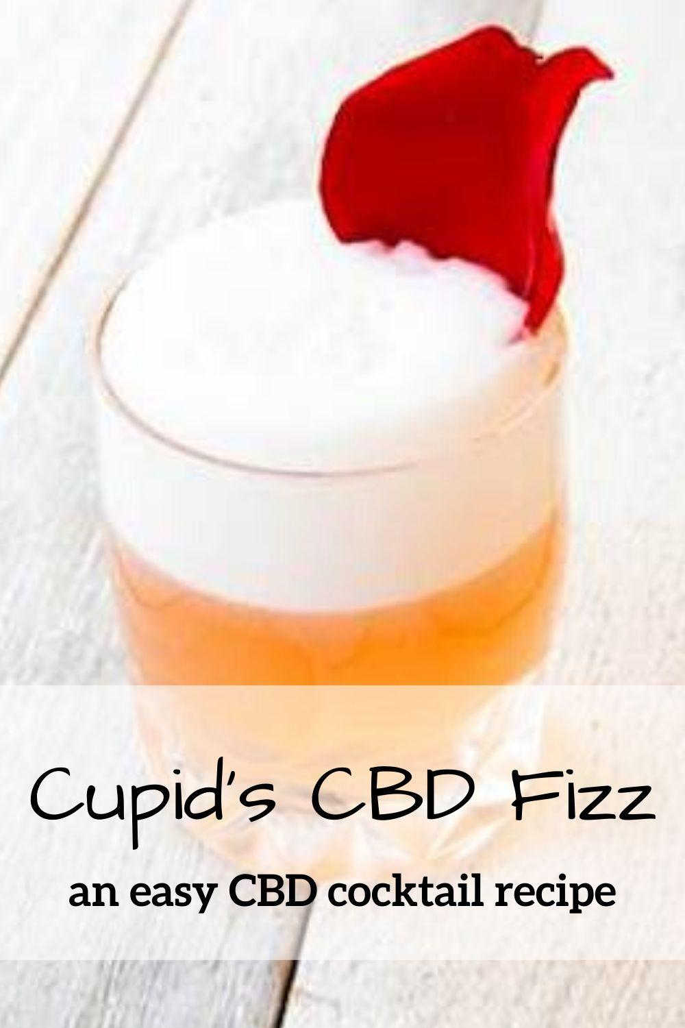 Cupid's Fizz CBD Cocktail