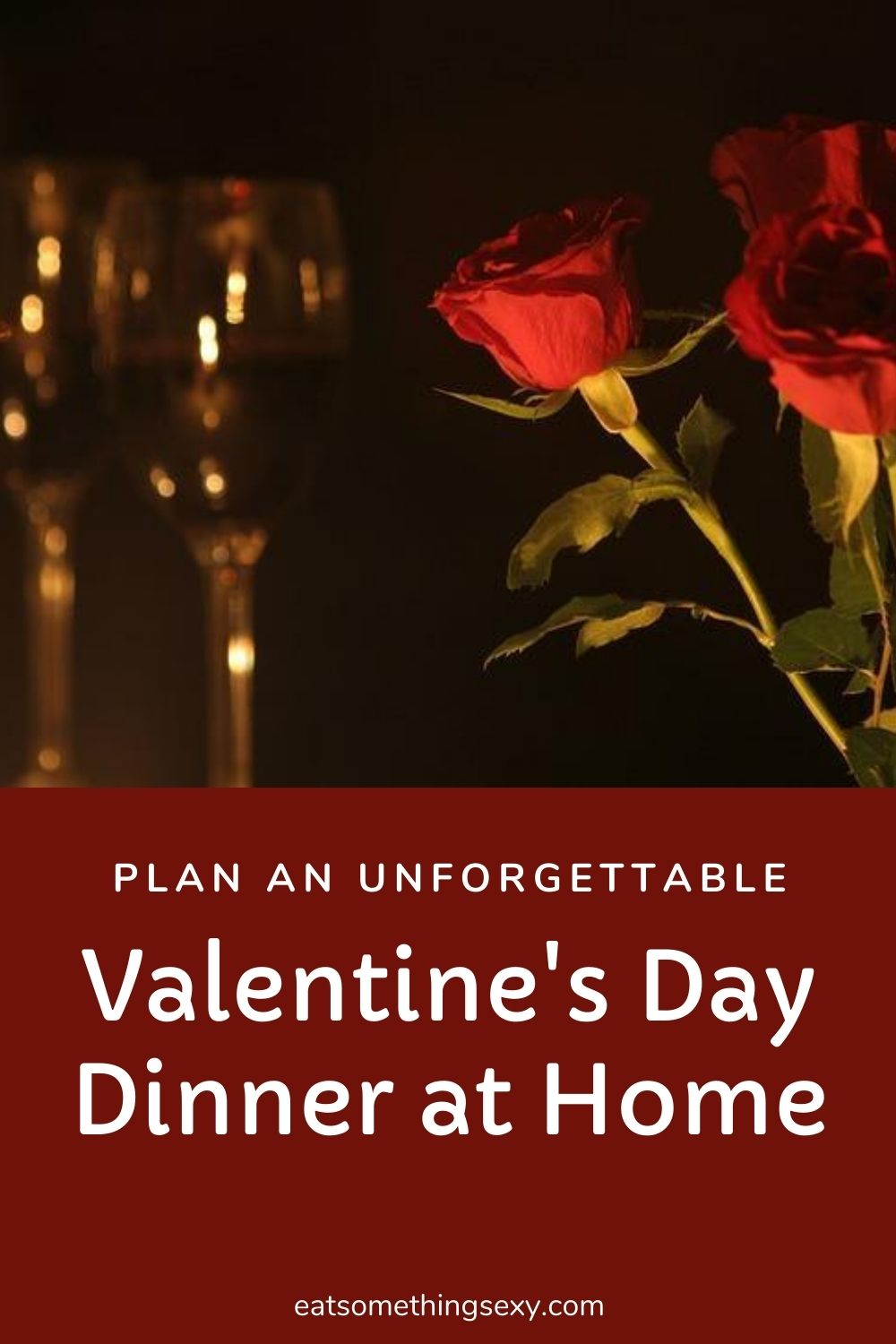 How to plan your Valentine's Day Menu graphic