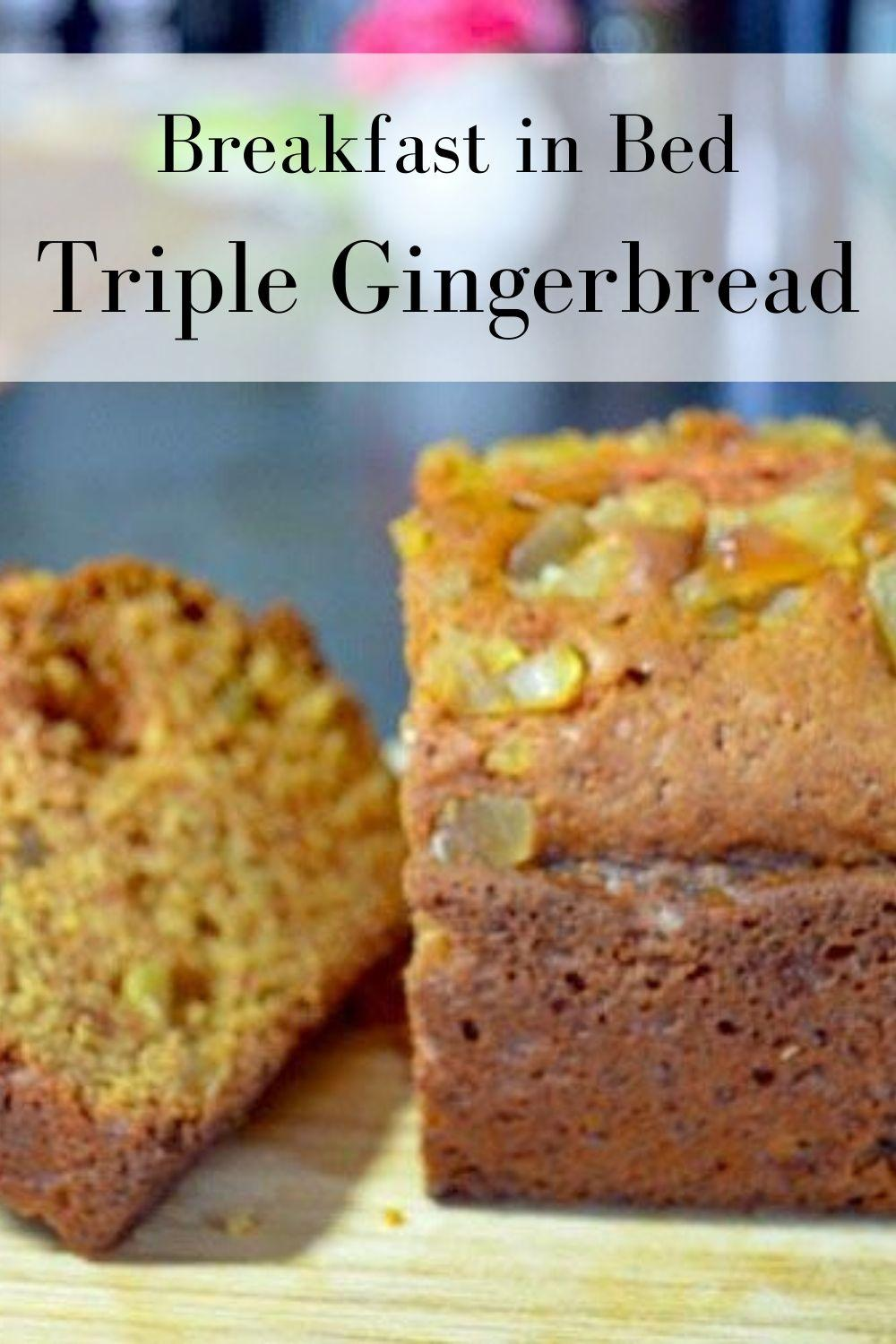 Breakfast in Bed Triple Gingerbread Loaf Graphic