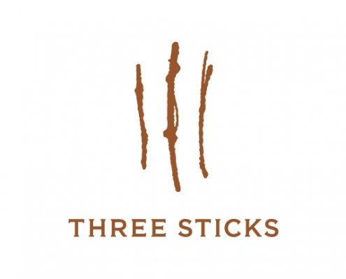 Three Sticks Winery Logo