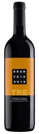 2016 Brancaia TRE bottle shot