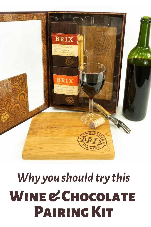 Pairing Wine and Chocolate Pinnable Graphic
