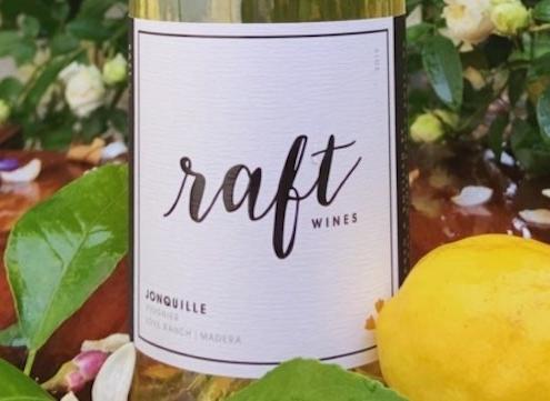 Raft Wines Jonquille Viognier label