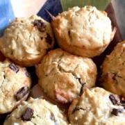 Jamaican Coconut Muffins