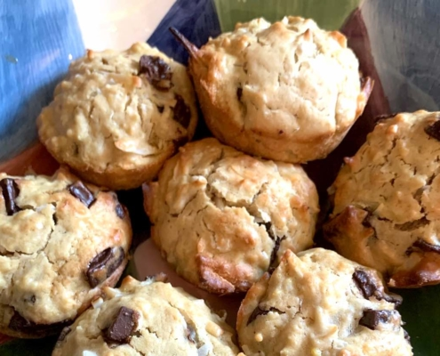 Jamaican Coconut Muffins