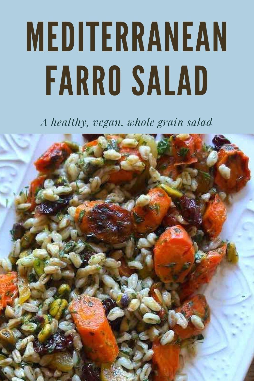 Mediterranean Farro Salad Graphic