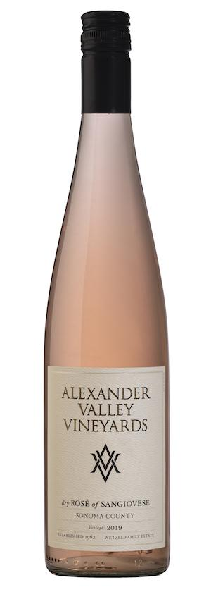 Bottle Shot of Alexander Valley Vineyards Rosé of Sangiovese