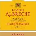 Lucien Albrecht Gewurztraminer label