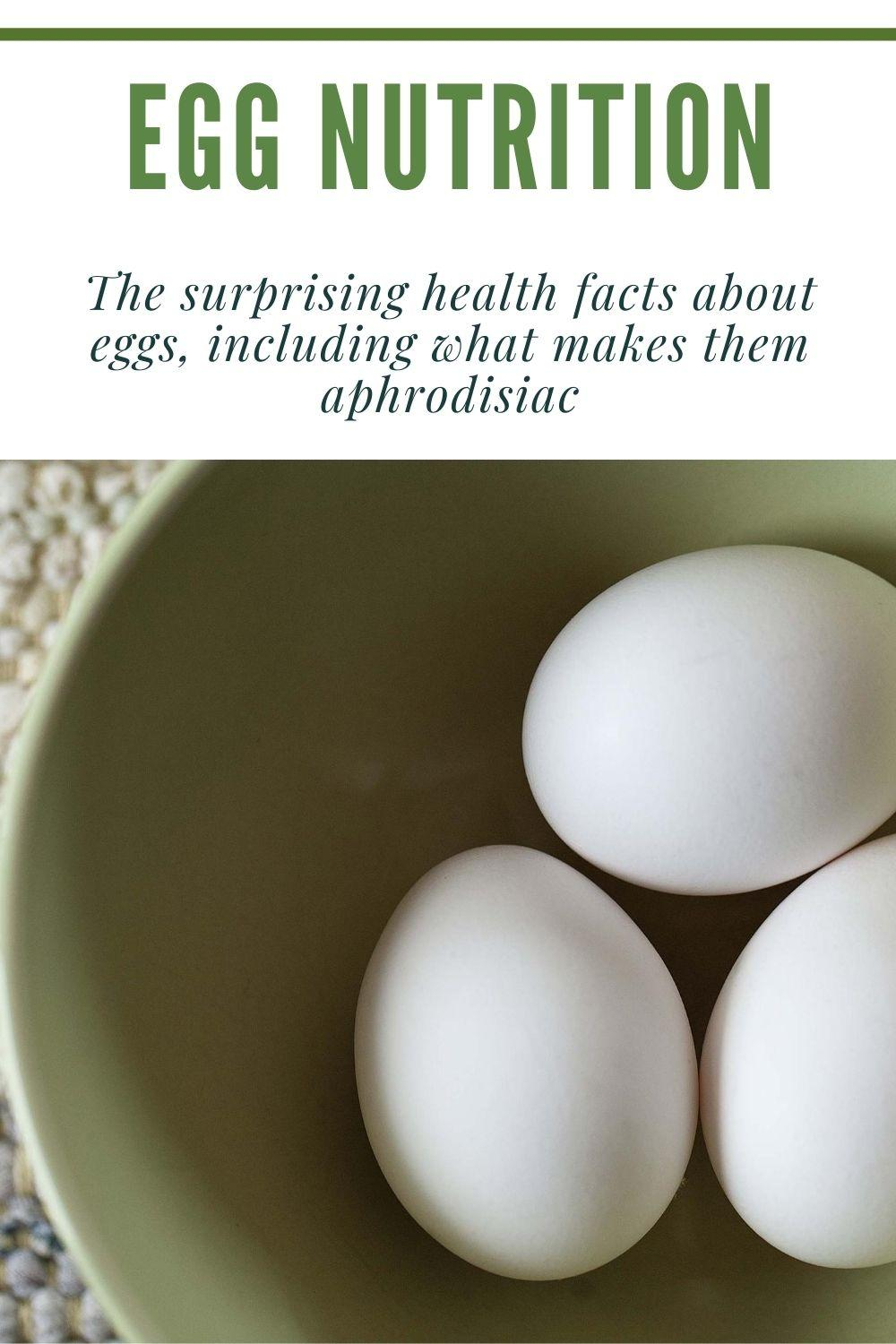 egg nutrition graphic