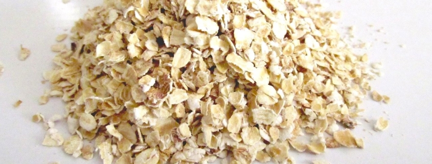 Closeup of whole oats to illustrate oatmeal nutrition