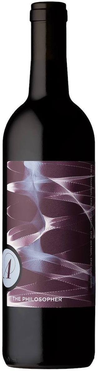 The Philosopher red wine blend bottle shot