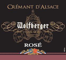 Wolfberger Crémant d'Alsace Brut Rosé 1