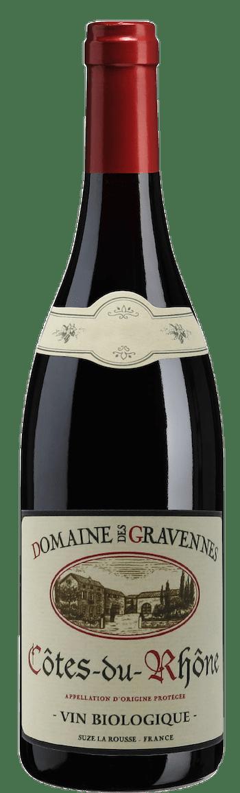 Domaine des Gravennes Côtes-du-Rhône bottle shot