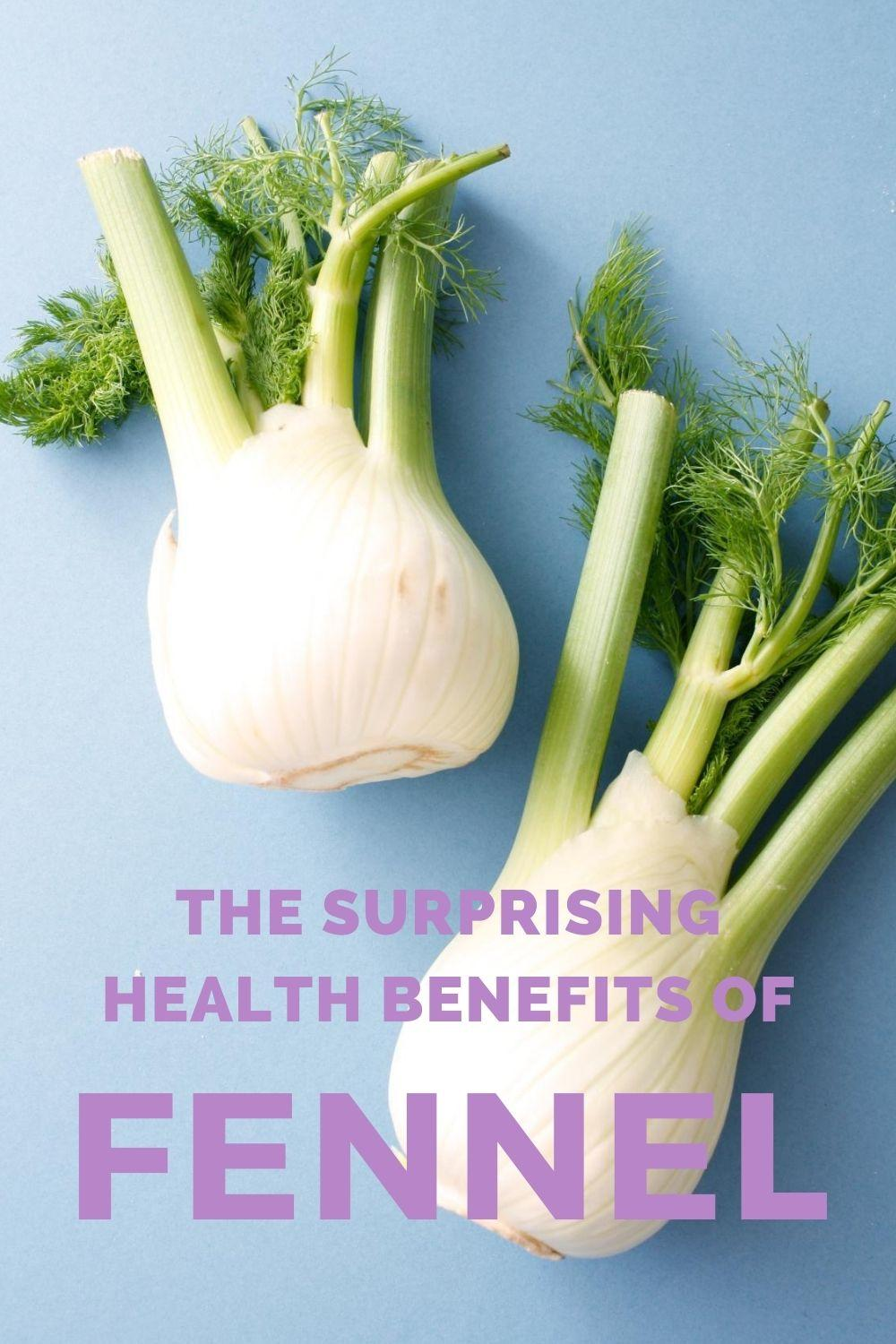 the benefits of fennel graphic