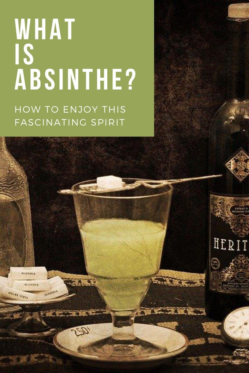 What is Absinthe? Graphic
