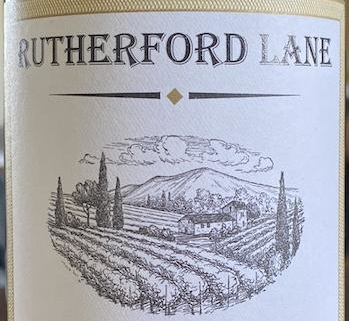 Rutherford Lane Cabernet Cropped