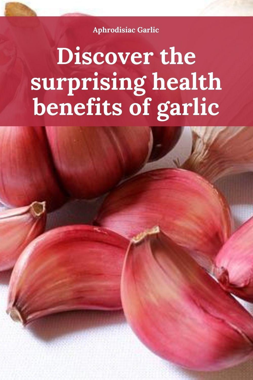 aphrodisiac garlic graphic