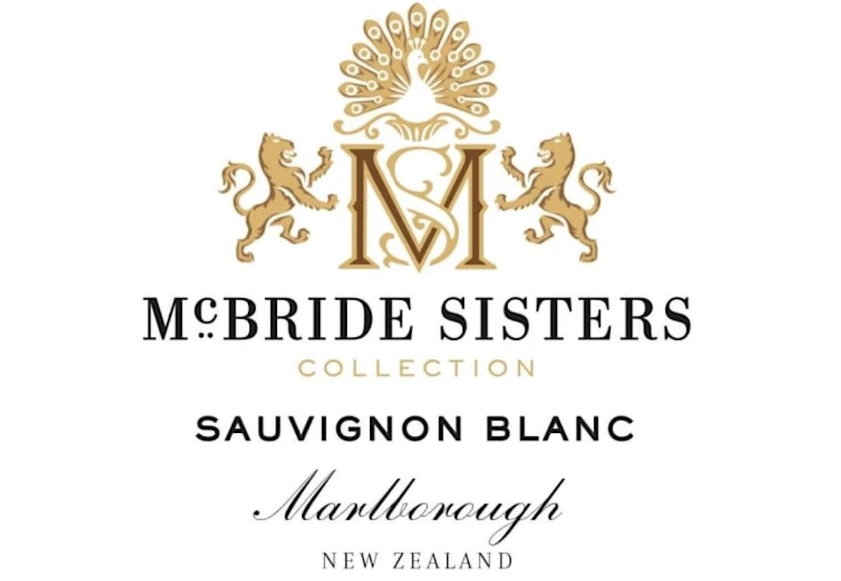 McBride Sisters Collection Sauvignon Blanc Label