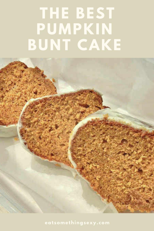 pumpkin bundt cake graphic