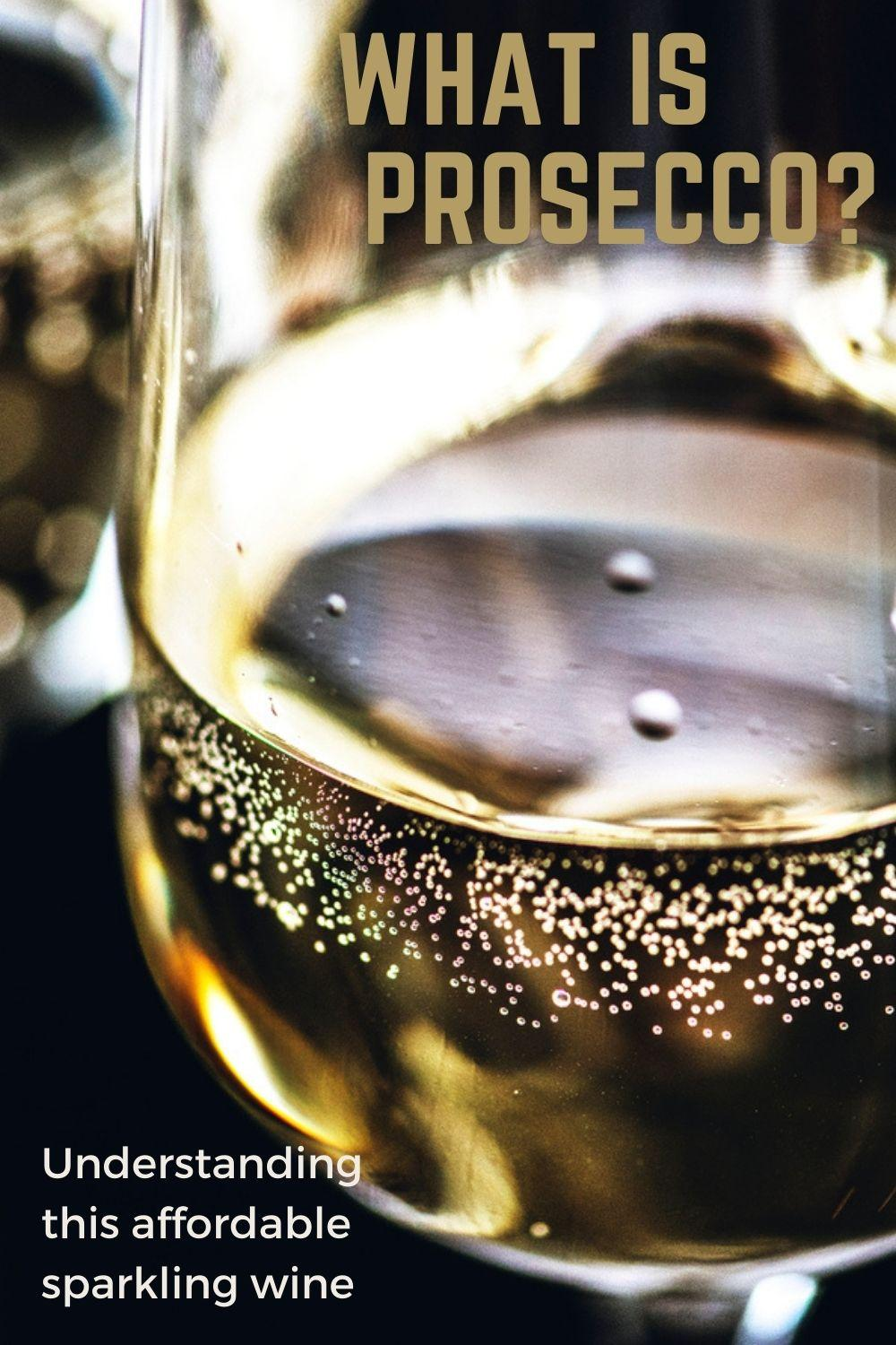 what is Prosecco? graphic