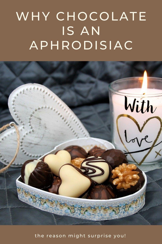 why chocolate is an aphrodisiac graphic