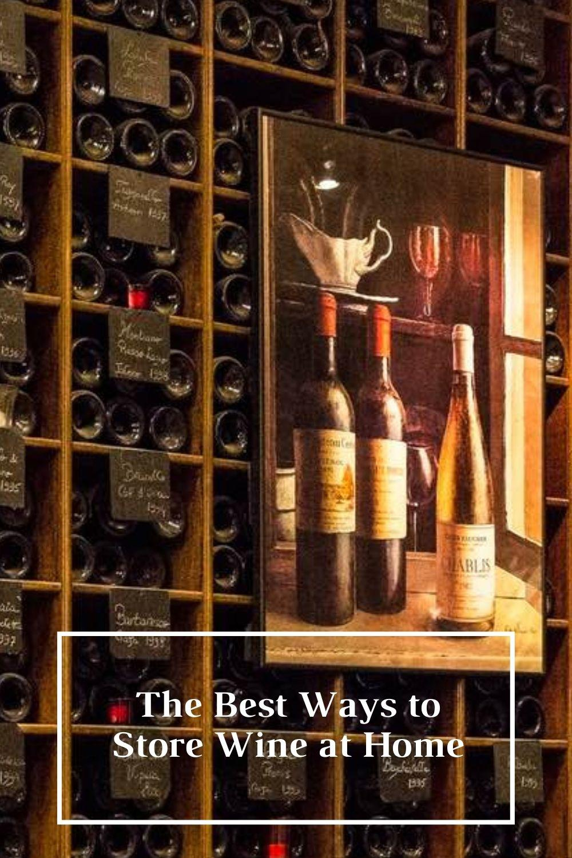 Good Wine Storage Graphic