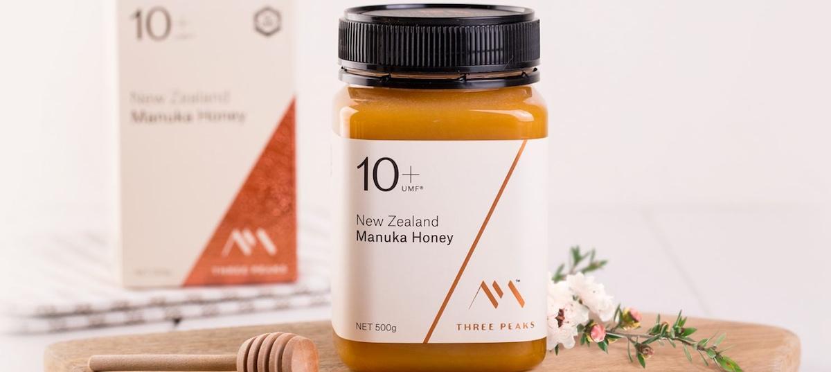 Three Peaks Manuka Honey