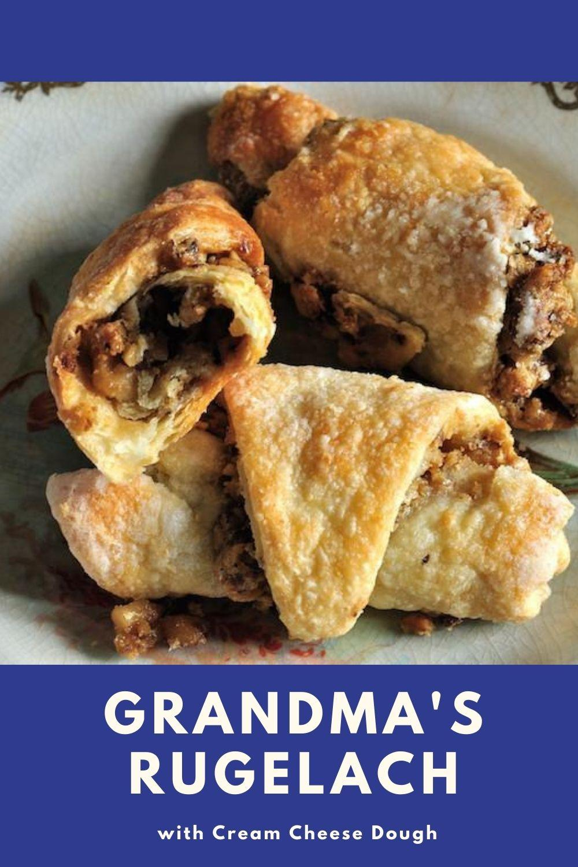 Grandma's Rugelach Recipe graphic