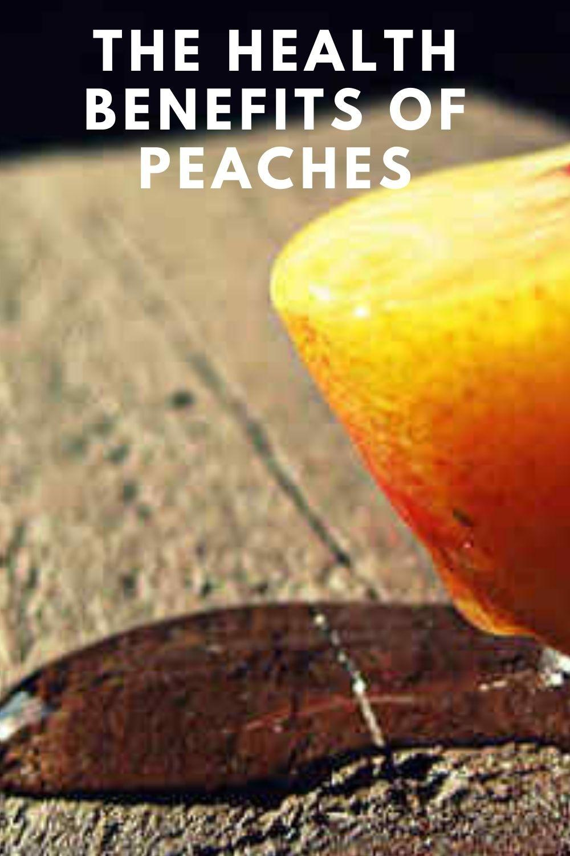 peach benefits graphic