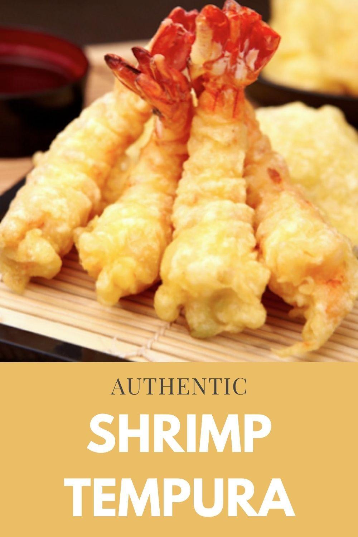 authentic shrimp tempura graphic