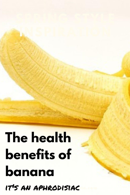 the health benefits of banana aphrodisiac graphic