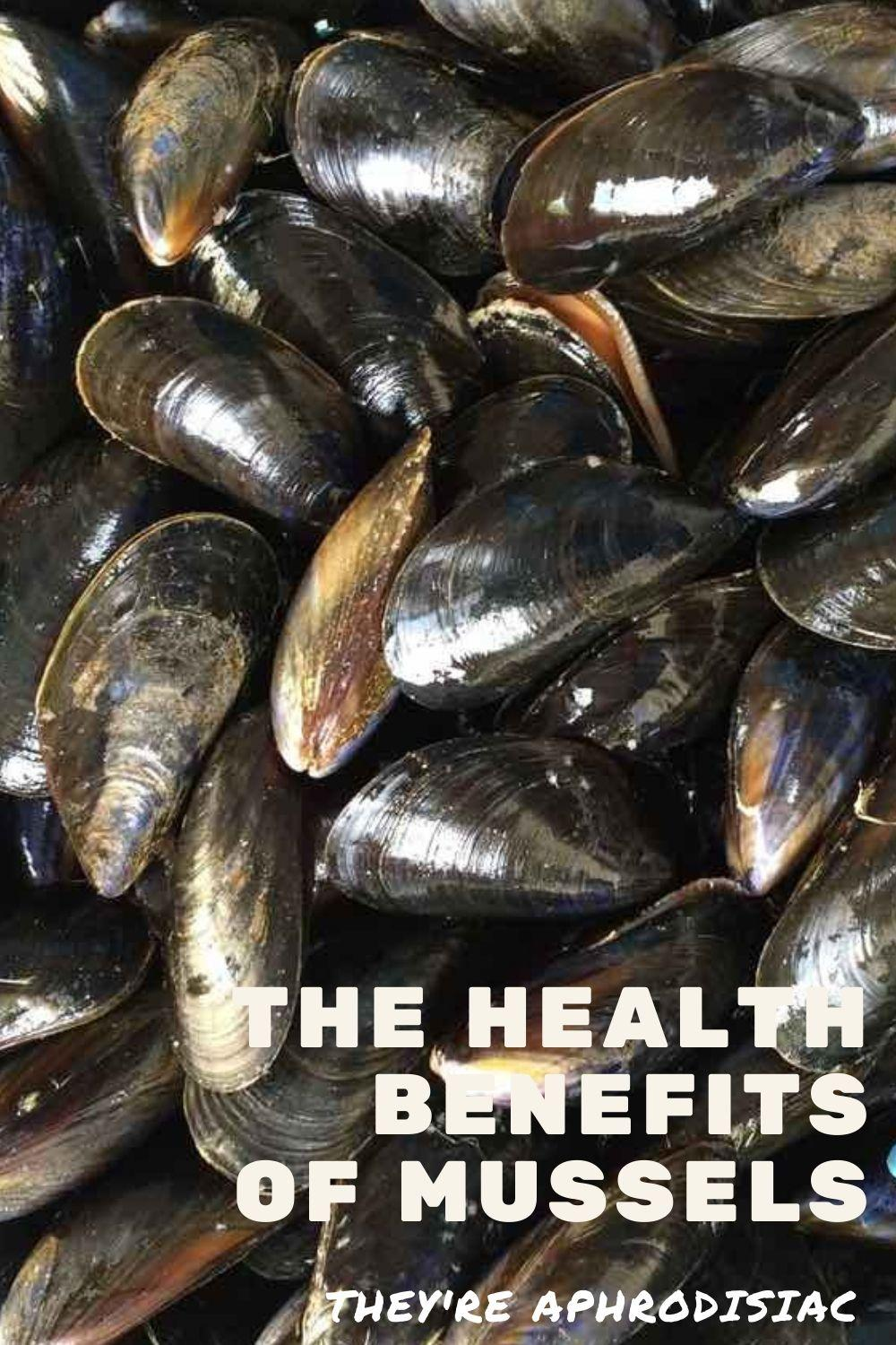 mussels benefits graphic