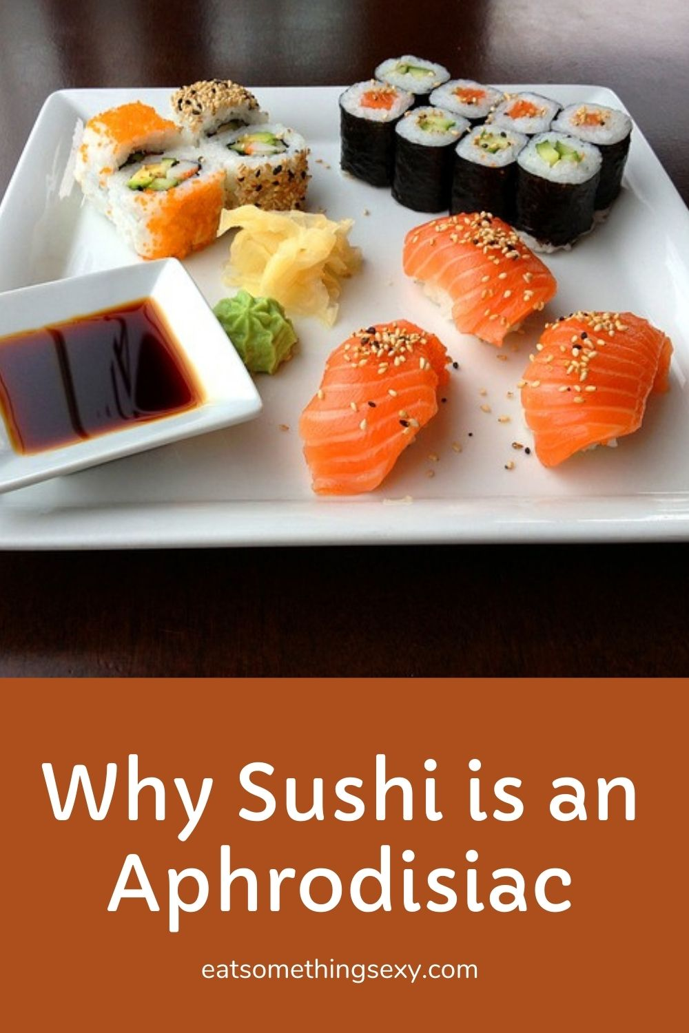 sushi health benefits graphic
